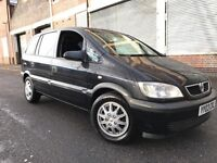 Vauxhall Zafira 2003 1.8i 16v Club 5 door AUTOMATIC, LOW MILES, 7 SEATER, BARGAIN