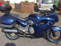 Triumph trophy 1200cc 1yrs mot / £1250