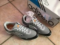 Adizero golf shoes 7.5 uk size wide fitting for sale
