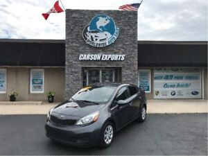 2014 Kia Rio LX+ ECO WITH LOW LOW KMS! FINANCING AVAILABLE!