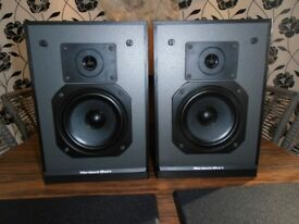 MORDAUNT SHORT MS 10 BOOKSHELF SPEAKERS like new .