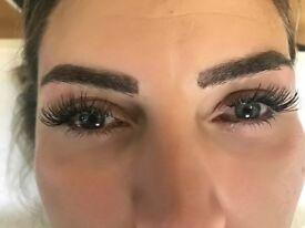 Eyelashes extension 1:1