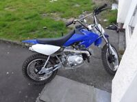 Semiauto pitbike for sale