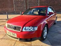 2002 AUDI A4 TDI SPORT ++ ALLOY WHEELS ++ REMOTE LOCKING ++ ELECTRIC WINDOWS ++ CD ++ MAY MOT.