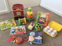 Bundle of 11 baby/toddler toys
