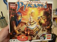 lego ramses pyramid 3843. excellent condition. build the game then play it! collectors set.