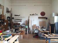Workshop space in Brixton for Wood worker | Cabinet maker | Furniture restorer