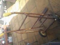 heavy duty industrial trolley