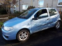Fiat punto 06 active sport £895 ono low mileage 44k good condition