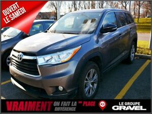 2015 Toyota Highlander LE AWD 7 PASS Gr COMMODITÉ CUIR  MAGS 8 P