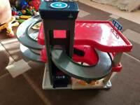Kids garage cars play station