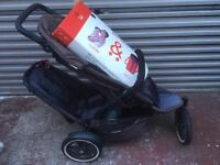 *SOLD* Phil & Ted's Double Buggy (inc. newborn cocoon)
