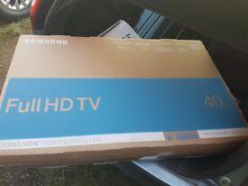 """Brand New 40"""" Samsung M5000 Full HD TV 1080p"""