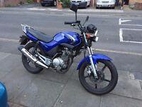 Yamaha YBR 125, Blue, 16k, 2009 (125cc Motorcycle) £1200 ONO