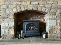 GAZCO ASHDON LOG EFFECT GAS STOVE