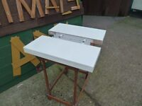 2 x White Floating Shelves Delivery Available