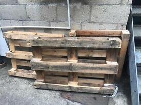 3 x Wooden Pallets - FREE TO COLLECT