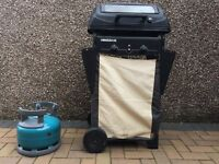 Gas Barbecue - including gas bottle