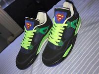 Jordan 4 Superman 2009