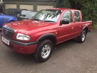 MAZDA B2500 DOUBLE CAB PICK UP