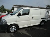 Toyota Hiace PSV to 13/03/17. full service history
