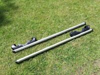 Menabo Brio aluminum roof rack / bars 1200mm 90Kg