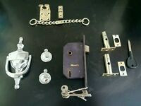 Door furniture including lock and keys