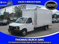 2014 GMC Savana 3500 16 FOOT CUBE VAN! 6.0L GAS ENGINE!