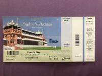 England Vs Pakistan-First Test match At Lords - Sunday