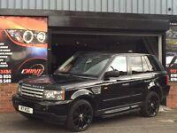 Land Rover Range Rover Sport 4.2 V8 Supercharged 5dr HAWKE BLACK EDITION - HUGE SPEC !!