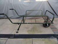 Folding fishing trolley