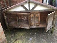 Rabbit/Guinean pig hutch