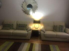 Brand new leather sofa set 3&2