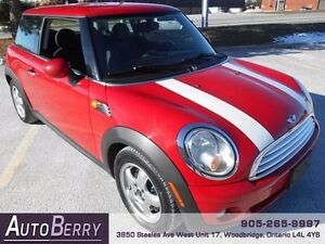 2010 MINI Cooper HARDTOP 6 SPD ** Certified & E-Tested ** $7,999