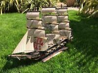 Vintage collectible ship