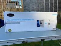 Full Motion TV Bracket Starter Kit for wall mounting