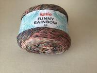 Katia funny rainbow knitting yarn