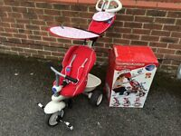 Red smart trike recliner