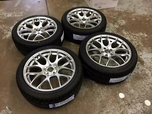 "18"" VMR Hyper Silver Wheels and Performance All Season Tires (Audi Cars) Calgary Alberta Preview"