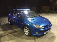 Peugeot 206 1.6 HDi GTi *1 YEAR WARRANTY**HPI CLEAR**p/x welcome
