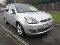 2008 Ford Fiesta 1.2 Zetec Climate edition 5 door silver 1 owner Vauxhall VW Seat Citreon Renault