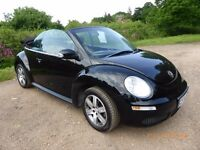 VW Beetle Cabriolet 1.6 Luna in excellent condition inside and out