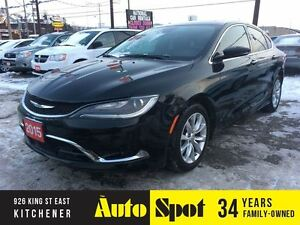 2015 Chrysler 200 C/TOP OF THE LINE/EVERY CONCEIVABLE OPTION POS