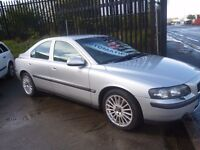 Volvo S60 TS SE Auto,4 dr saloon,FSH,full leather interior,nice clean tidy car,runs and drives well