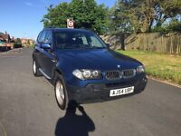 BMW X3 2.0d 2005 £2950 ono