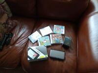Nintendo 3DS XL console & 5 Games