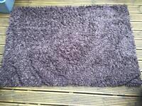 NEXT Brown 100% Wool Rug