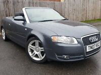 2007 Audi A4 Cabriolet Convertible 1.8 Turbo FSH