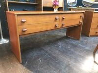 Dressing Table or Sideboard by Stag. Retro Vintage Mid Century