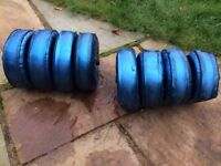 Dumbbells Water Filled Variable Weight Up to 8KG